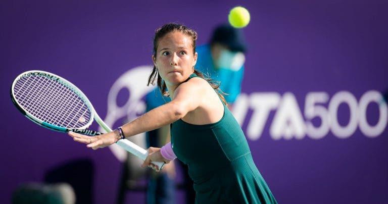 Treinador de Kasatkina pede que os tenistas não sejam mimados