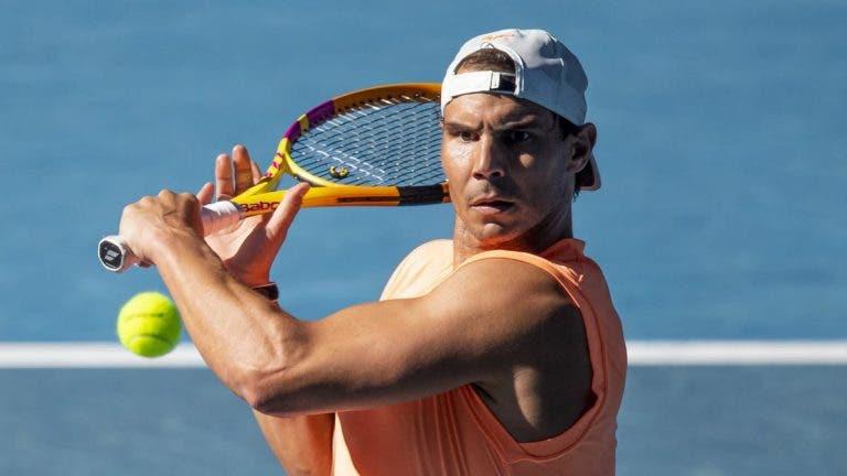 Más notícias: Nadal continua lesionado e falha duelo com Tsitsipas na ATP Cup