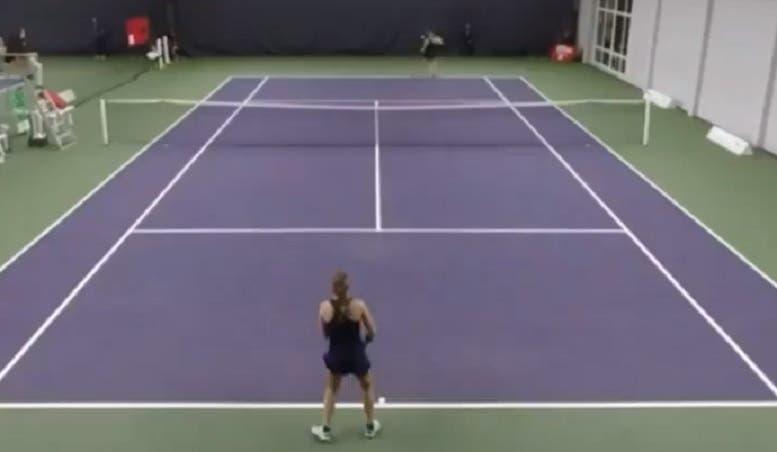 [VÍDEO] Acha que o ténis feminino não é espetacular? Então veja isto
