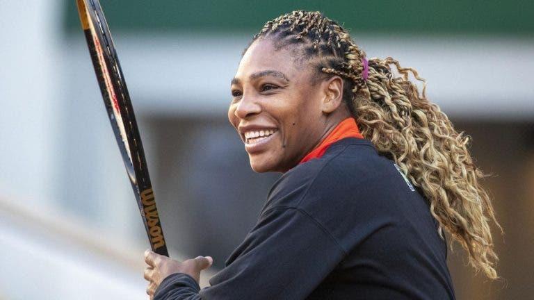 Serena Williams elege a próxima a encher a estante de Grand Slams