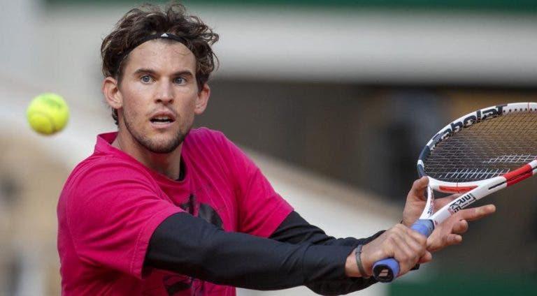 Thiem defende governo australiano: «Djokovic só queria ajudar mas era óbvio que ia levar nega»
