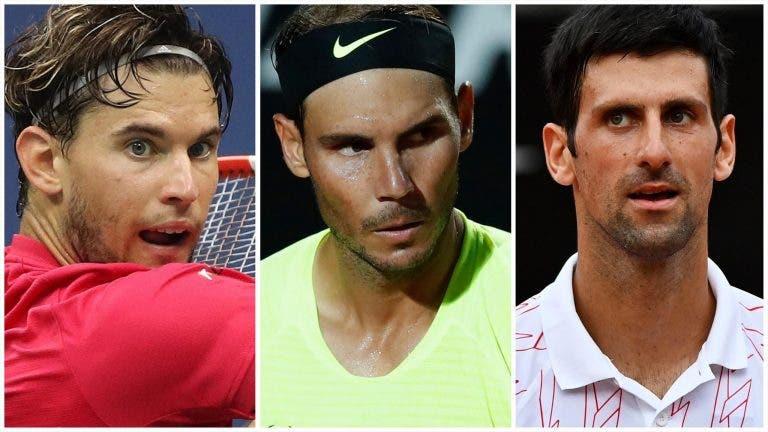 IMPERDÍVEL: Djokovic-Sinner, Serena-Osaka e Nadal-Thiem esta sexta-feira em Adelaide