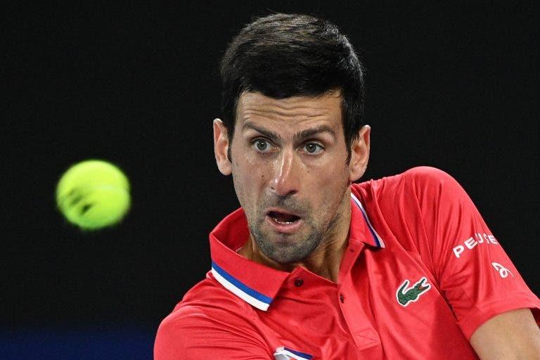 Djokovic resiste a Zverev após longa batalha e Sérvia iguala eliminatória com Alemanha