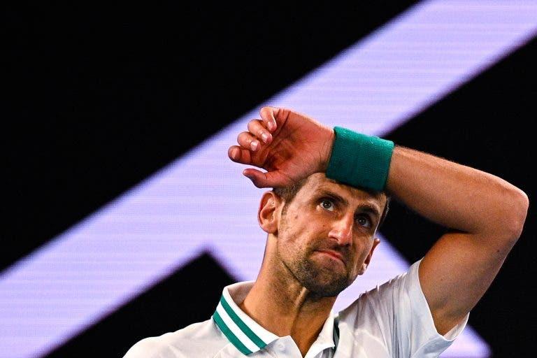 Surpresa: Djokovic fora dos nomeados para melhor desportista de 2020; Nadal dentro