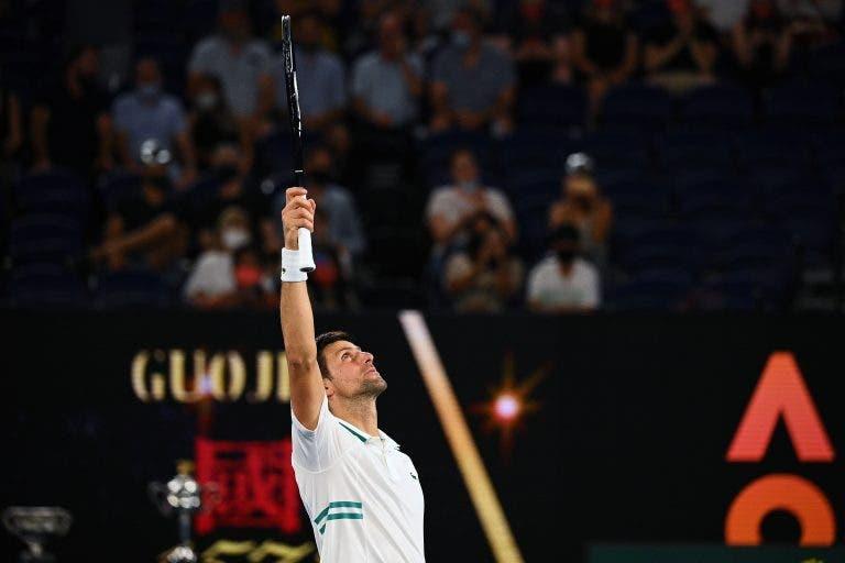 Djokovic fala da derrota de Nadal e garante: «Não senti dores, veio mesmo na altura certa»