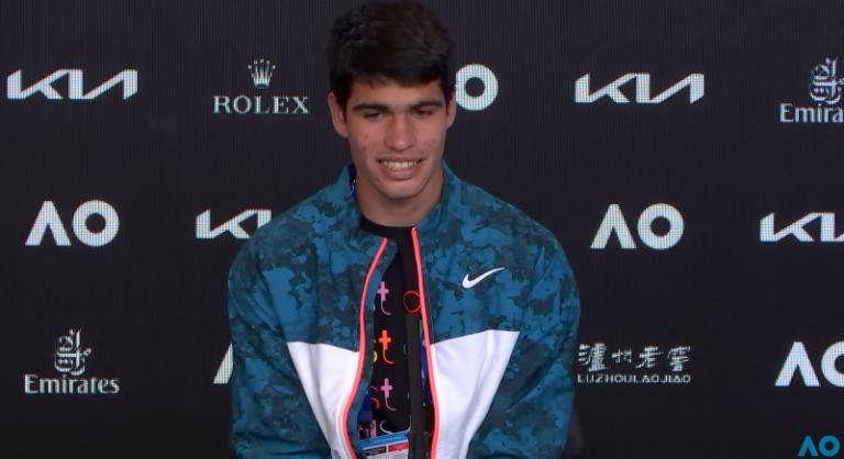 Alcaraz e o seu primeiro quadro ATP em Espanha: «A pressão fica fora de campo»