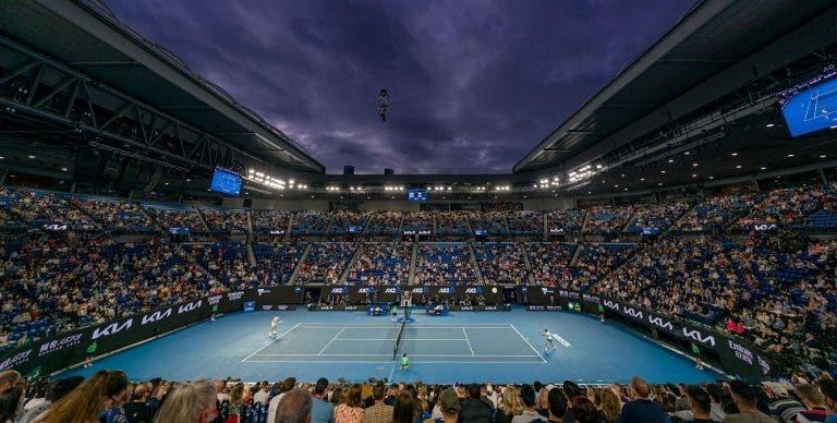Australian Open teve menos 680 mil espectadores do que no ano passado