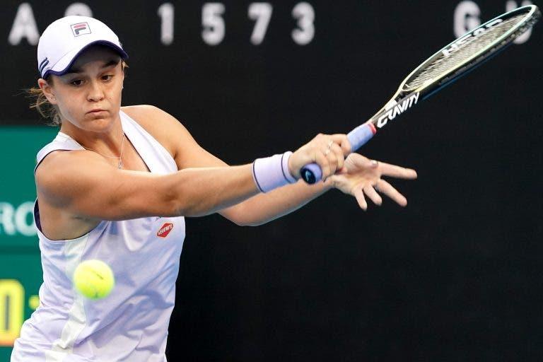 Barty desilude em Adelaide e nem um set consegue vencer