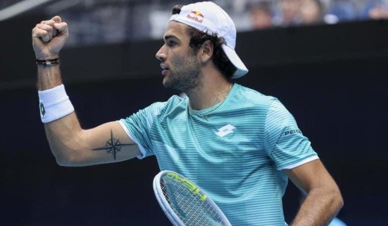 Berrettini segue imparável e coloca a Itália na final da ATP Cup