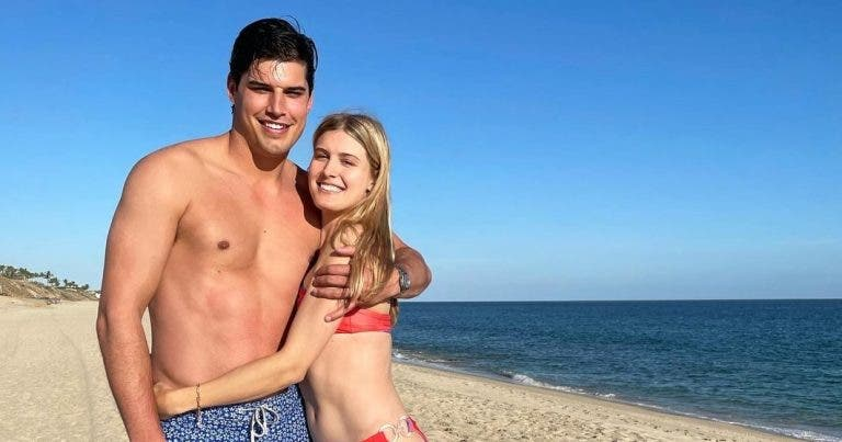 Bouchard oficializa namoro com jogador que ficou famoso por ser alvo de agressão inédita