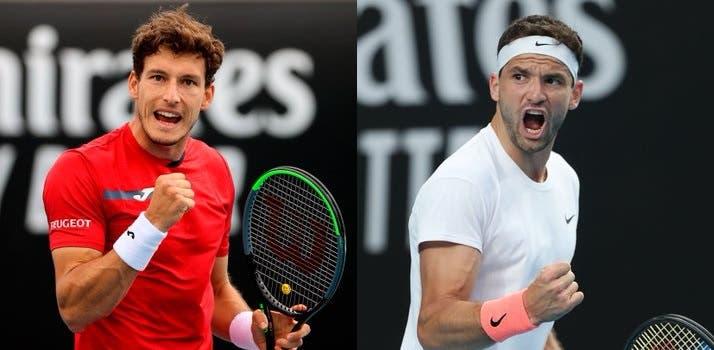 Carreño (Nishikori) e Dimitrov (Cilic) passam por rivais difíceis rumo à segunda ronda