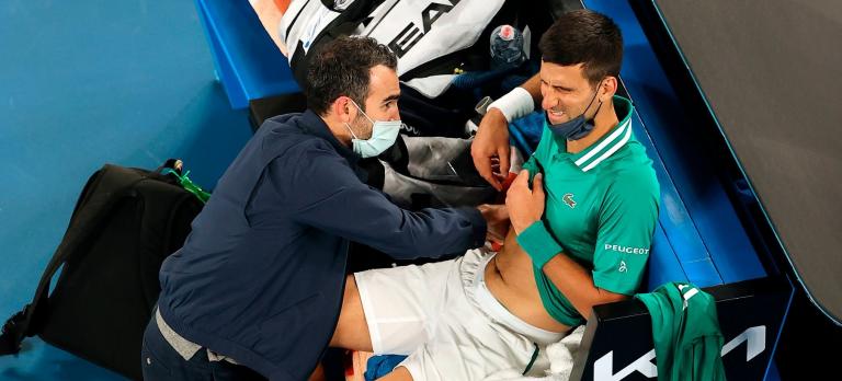 Djokovic e a lesão: «É mesmo uma rotura muscular. Foram injustos comigo»