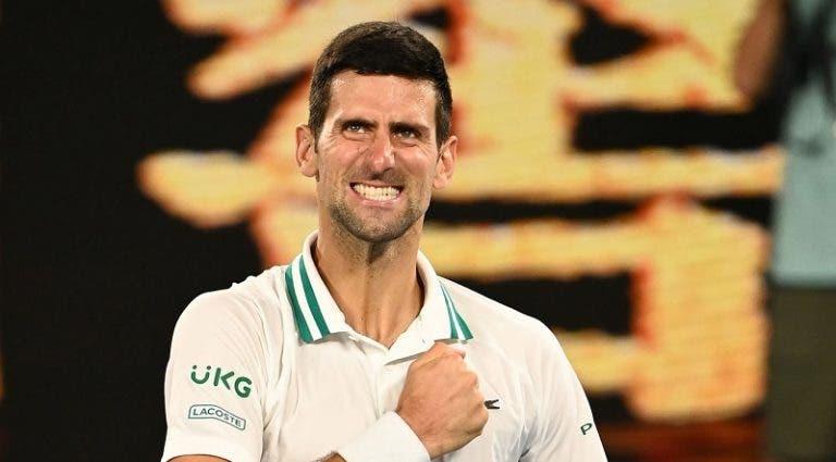Djokovic e o recorde histórico de semanas no topo: «Sonho com isto desde pequeno»
