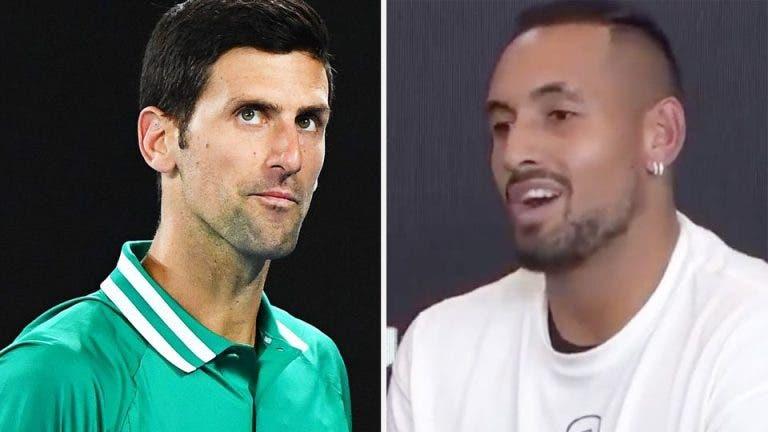 Wilander e a polémica Djokovic-Kyrgios: «Novak quer terminá-la, Nick adora isto»