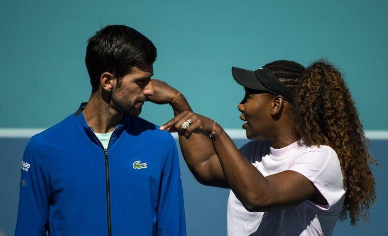 Estrelas ATP felicitam Serena Williams pelo 1000.º encontro da carreira