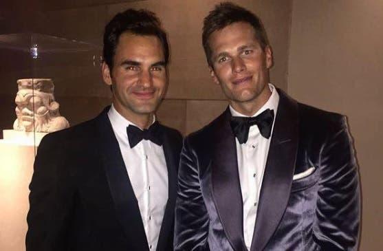 Federer dá os parabéns ao amigo Tom Brady: «A idade é só um número»