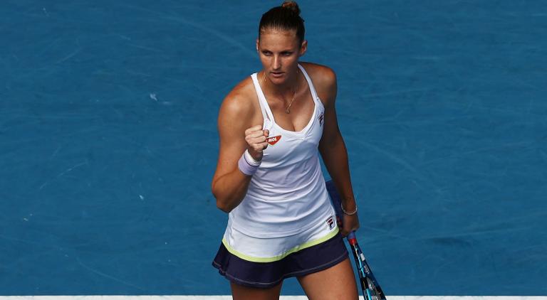 Pliskova e Muguruza arrasam rumo à terceira ronda em Miami