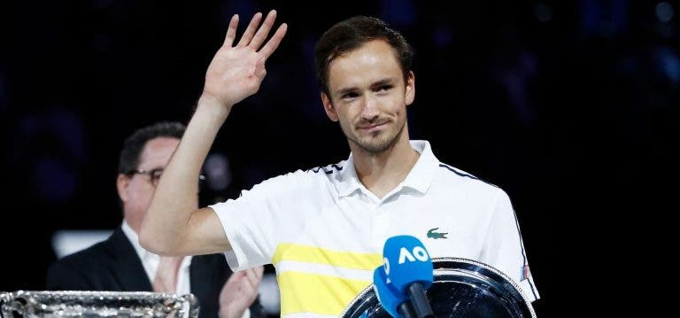 Novo top 10 ATP depois do Australian Open só tem uma troca