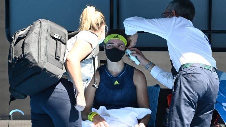 Muchova: «Joguei em Melbourne com uma rotura abdominal maior do que a do Djokovic»