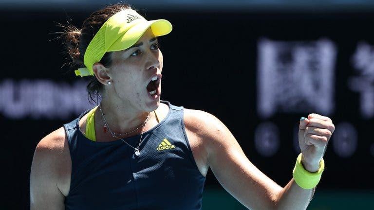 Muguruza volta a arrasar rumo aos oitavos-de-final do Australian Open