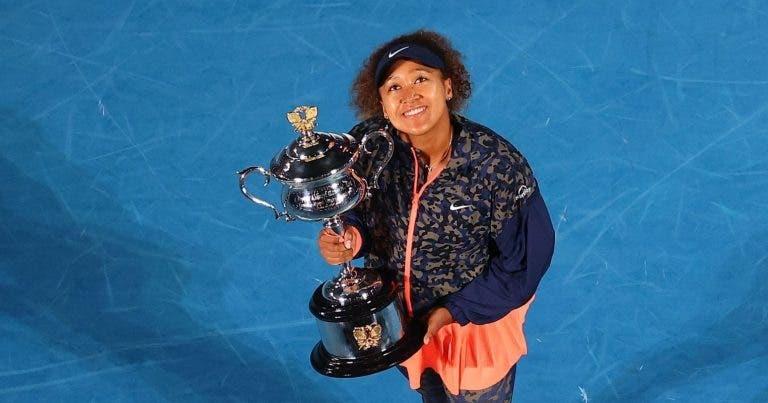 Naomi Osaka faz crescer estatuto de campeã e conquista Australian Open