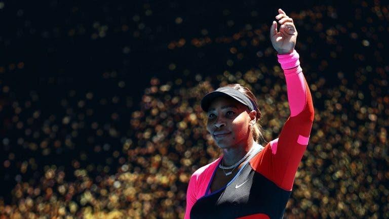 Serena e a porta fechada em Melbourne: «Vêm aí dias difíceis»
