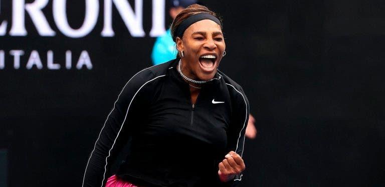 Serena Williams impressiona e arrasa na estreia em Melbourne