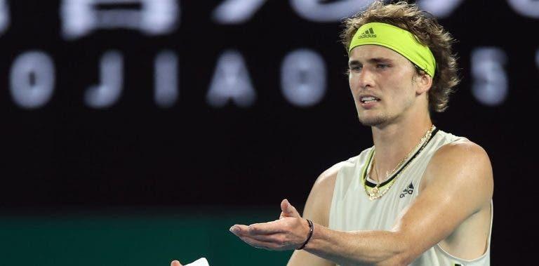 Zverev: «Não sei como é que o Djokovic consegue responder assim»