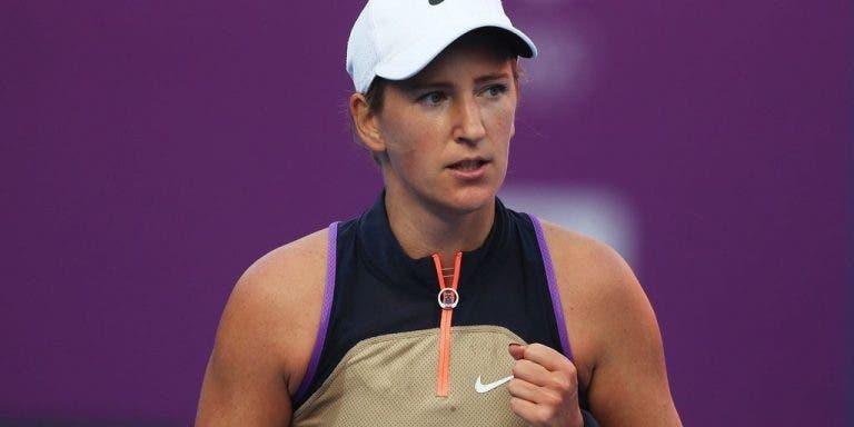 Azarenka lesiona-se nas costas, não desiste… e despacha Svitolina rumo às meias-finais em Doha