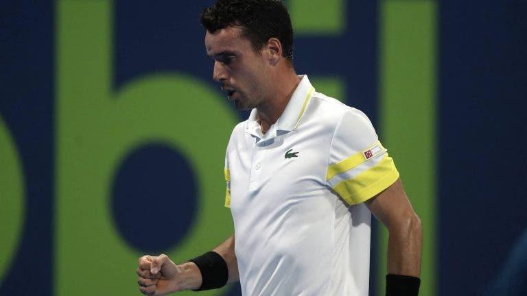 Bautista Agut continua em grande e derrota facilmente Rublev rumo à final em Doha