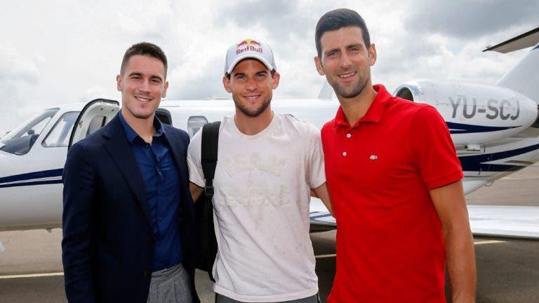 Do ídolo Nadal aos descontrolos de Djokovic: irmão de Nole abre o livro