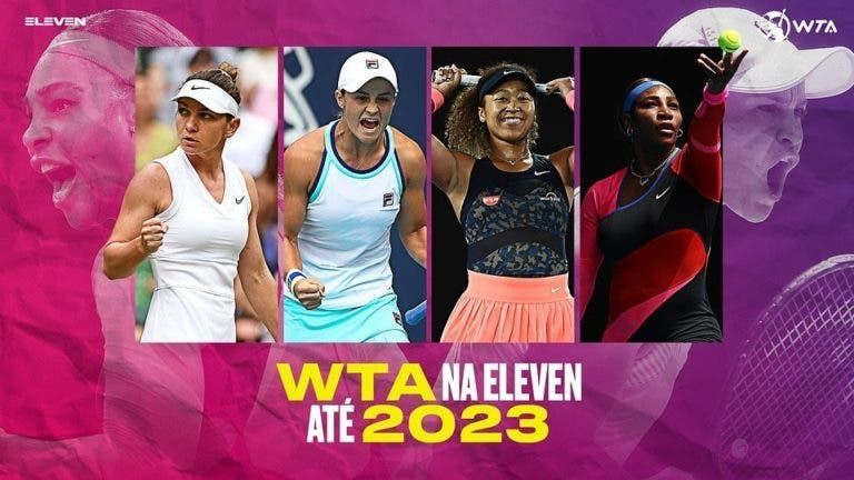 WTA regressa à TV portuguesa 9 anos depois na Eleven