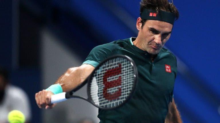 Evans explica treinos com Federer: «Nem dá para pensar que ele tem 39 anos»