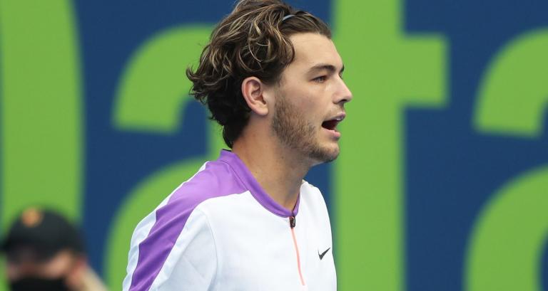 Fritz e uma interessante reflexão: «Não estou nem perto do melhor ténis da minha carreira»