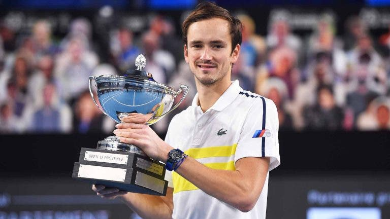 Medvedev: «Sabia que ia ser número dois ATP, queria muito ser campeão»