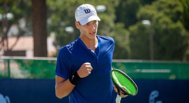 Miguel Gomes soma primeira vitória da carreira em Slams e fica um passo do quadro no US Open