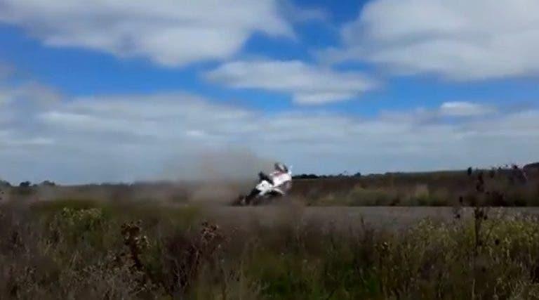 [VÍDEO] Que susto! Nalbandian teve acidente aparatoso num rally