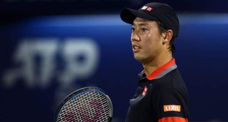 Nishikori joga muito e derrota Goffin rumo aos 'oitavos' no Dubai