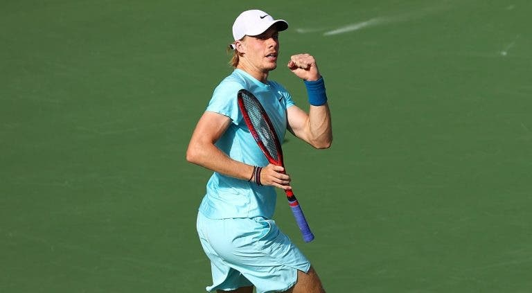 Shapovalov nas meias-finais do ATP 500 do Dubai sem perder sets