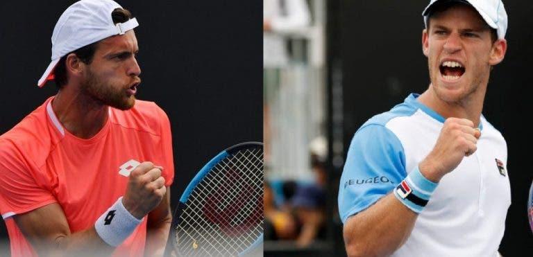Sousa e Schwartzman caem na primeira ronda de pares em Acapulco
