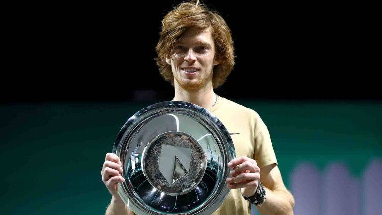 Rublev alcança registo incrível em ATP 500 que é apenas superado por Federer e Murray