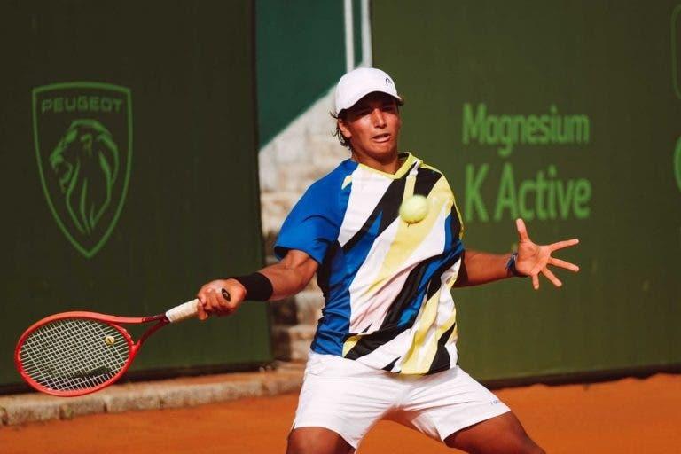 Histórico! Henrique Rocha é o primeiro tenista nascido em 2004 a vencer num Challenger