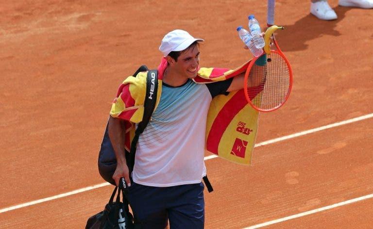 Nuno Borges: «É um sonho tornado realidade e eu achava que nem ia jogar o qualifying»