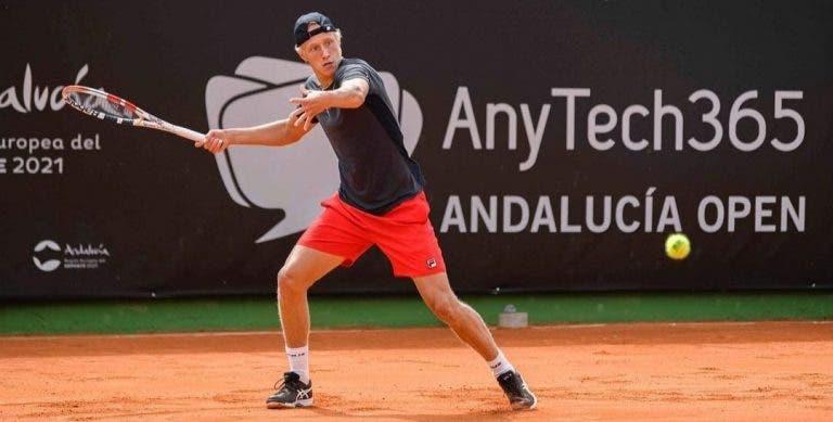 Leo Borg, filho da lenda Bjorn Borg, estreou-se aos 17 anos em torneios ATP e foi… arrasado