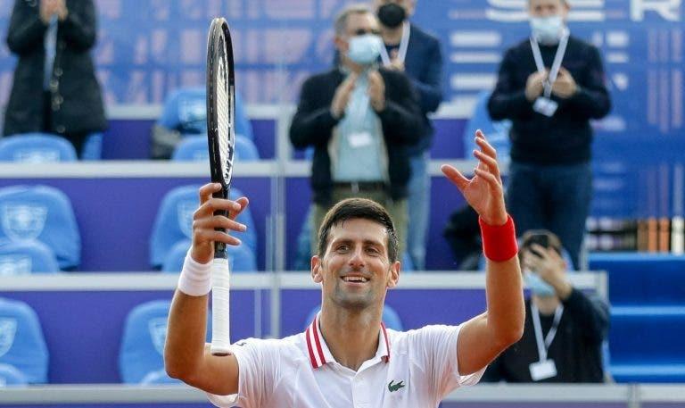 Djokovic surpreende e vai competir novamente em casa… na semana que antecede Roland Garros