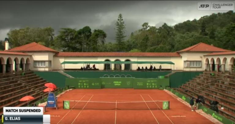 Chuva atrasa meias-finais do Oeiras Open II no Jamor