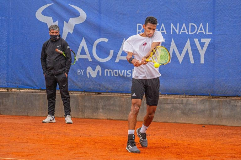 Auger Aliassime de volta à Academia Rafa Nadal para preparar Roland Garros