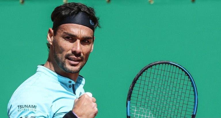 Italianos em grande: Sinner vence e marca encontro com Djokovic; Fognini inicia defesa do título com boa exibição
