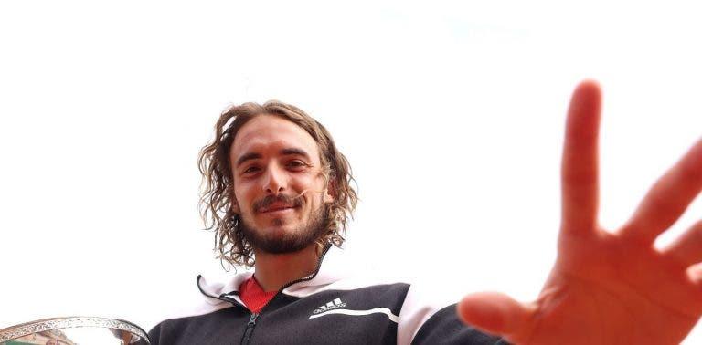 Tsitsipas: «Para mim ganhar Monte Carlo é mais importante do que as ATP Finals»