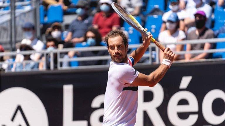 Gasquet continua a renascer e atinge novamente os quartos-de-final de um ATP